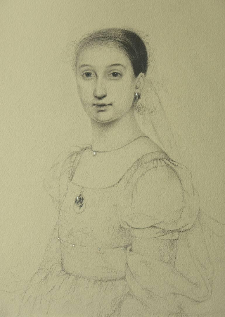 Ольга Акаси. Portrait of a Hazy Lady