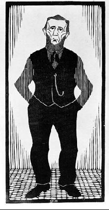 Мауриц Корнелис Эшер. Мужчина в черном жилете