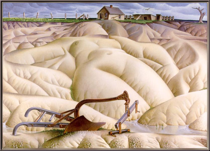 Alexander Hog. Naked scorched Mother Earth