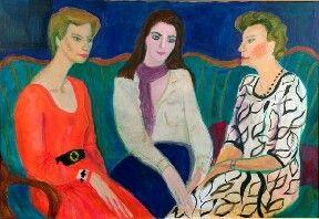 Римма Михайловна Юношева (Мачнева). Портрет герцогини Аберкорн с матерью и дочерью Софи