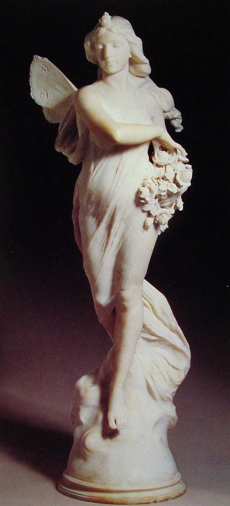 Фердинандо Виши. Девушка с крыльями
