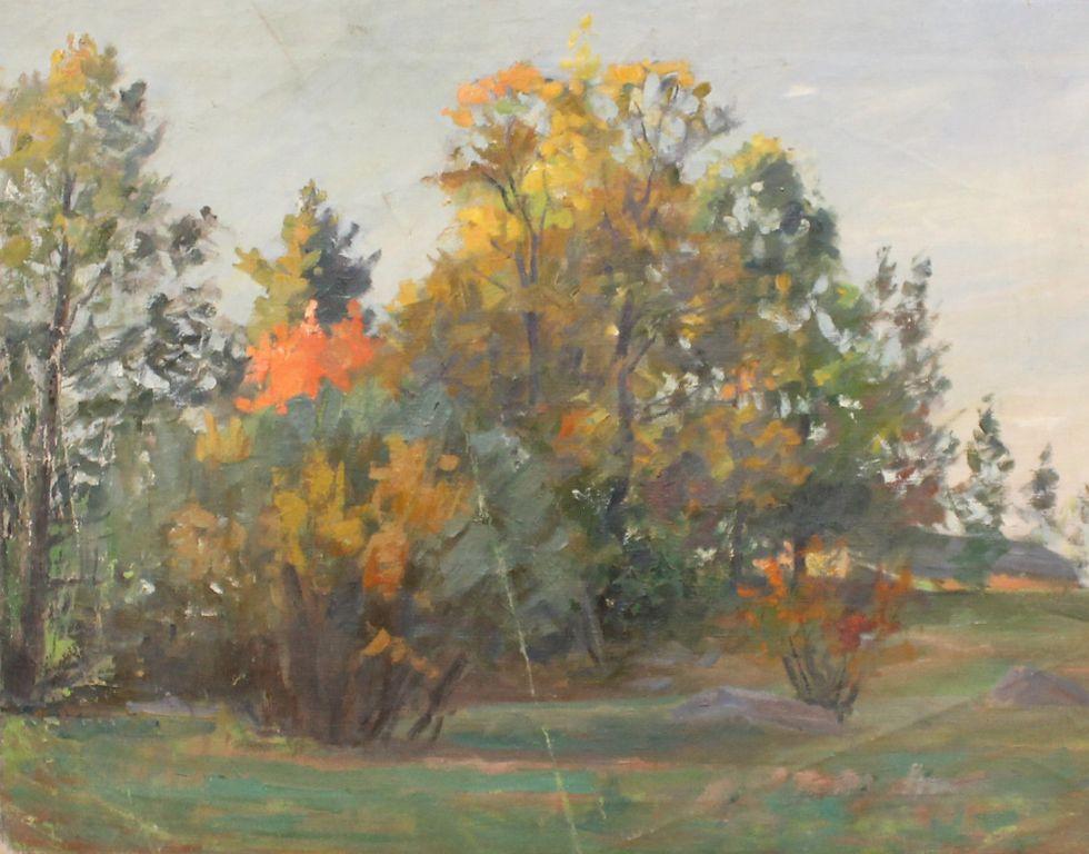 Boris Stepanovich Petrov. Fall. Okolitsa
