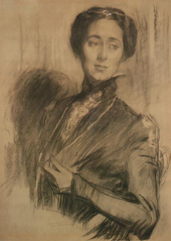 Осип Эммануилович (Иосиф) Браз. Портрет Л. А. Недоброво, рожденной Ольхиной. 1903