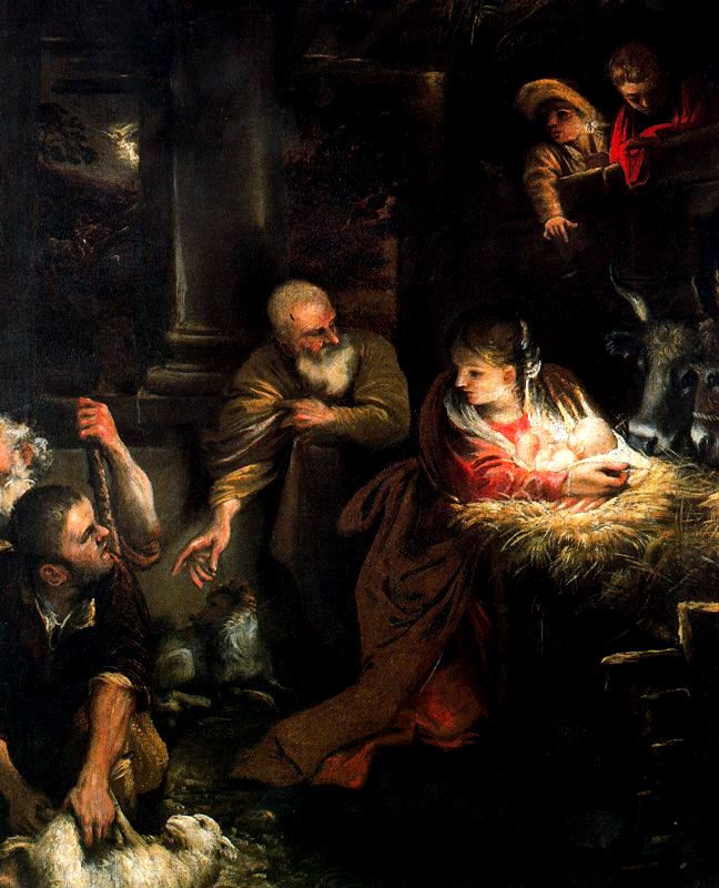 Annibale Carracci. Christmas