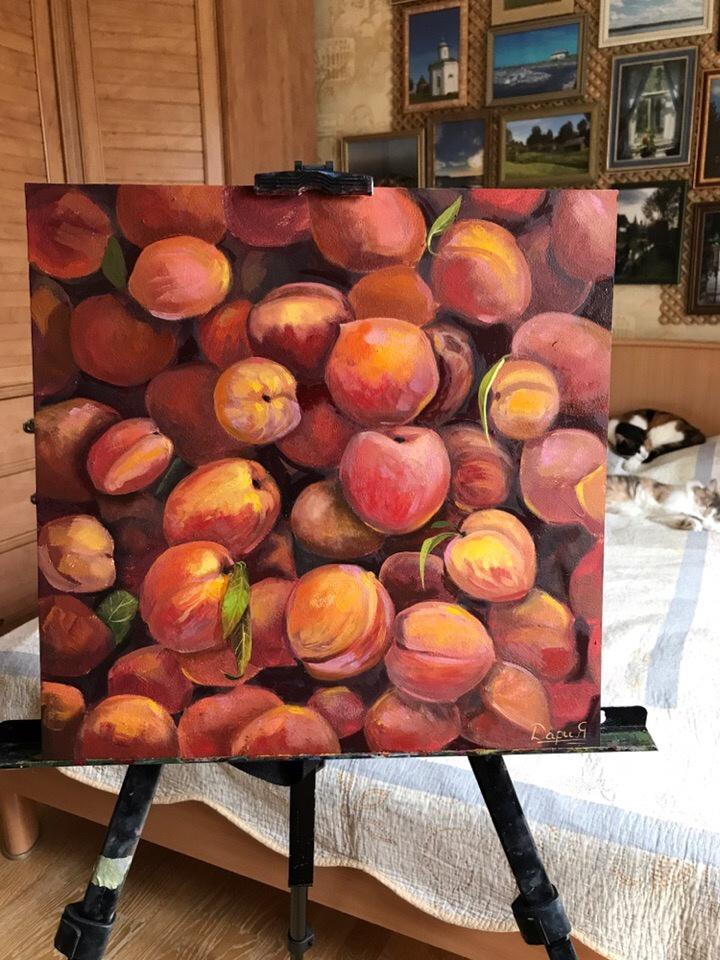 Daria Dmitrievna Polyakova. Peaches