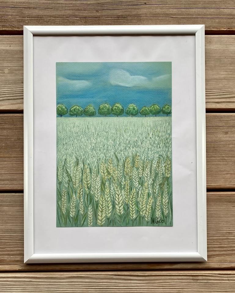 Maria Grekova. Summer fields
