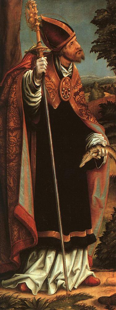 Hans Elder Burgkmayr. Holy