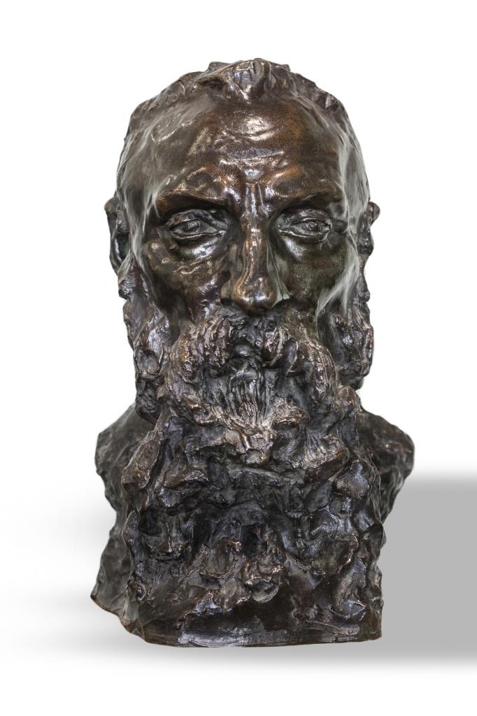 Camille Claudel. Portrait d'Auguste Rodin