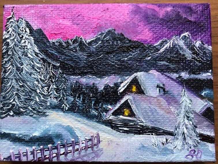 Julia Yuryevna Boyarko. Alpine house