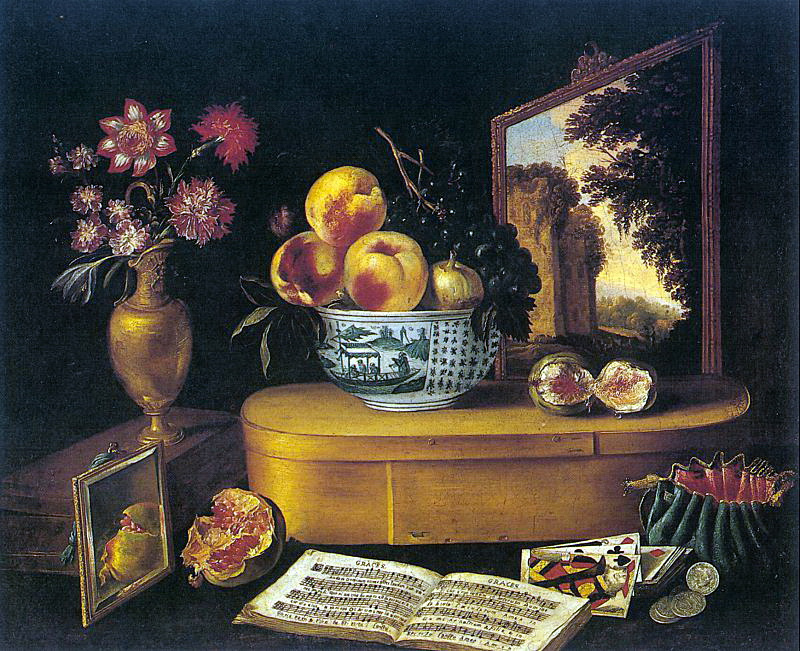 Яккууес Линард-Жак. Натюрморт с цветами