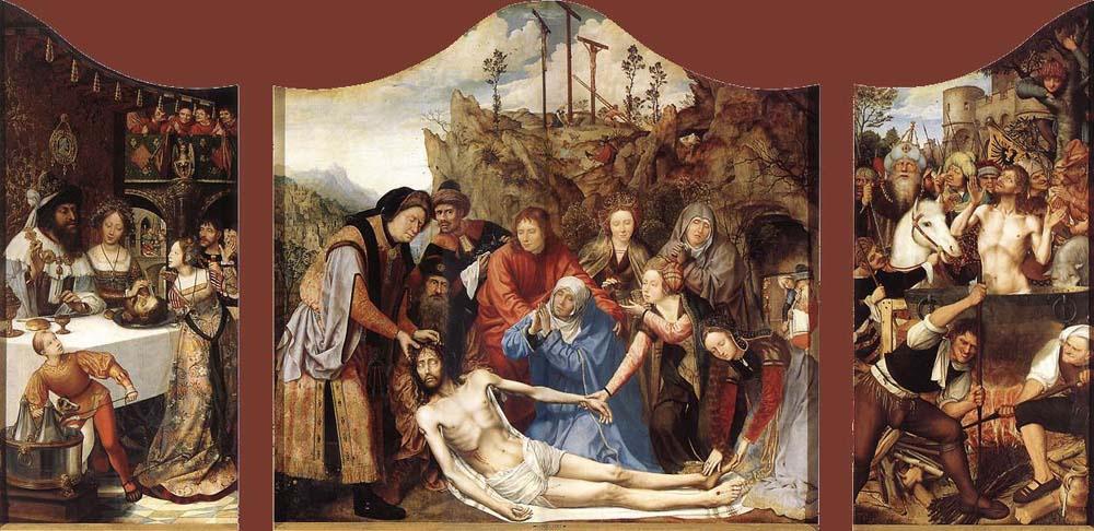 Квентин Массейс. Святитель Иоанн