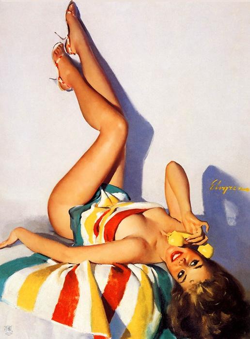 Джил Элвгрен. Пин-ап портрет №3