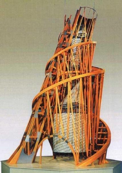 Vladimir Evgrafovich Tatlin. Tower III international