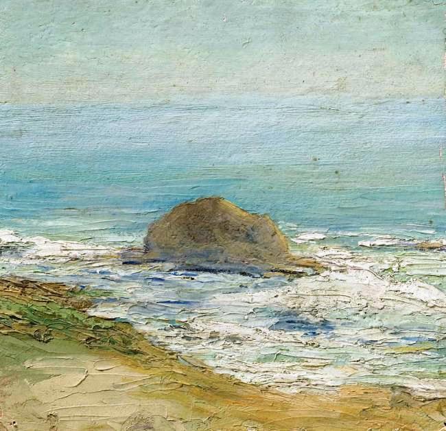 Nikolay Grigorievich Burachk. Caucasus. Morning by the sea