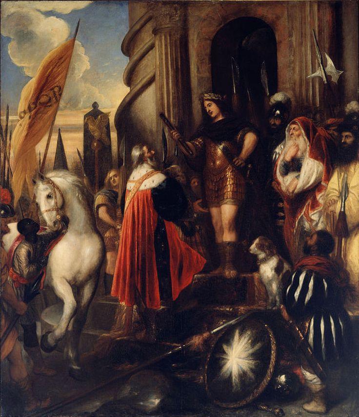 Jan Lievens. The Consul and the military commander Quintus Fabius Maximus the Cunctator