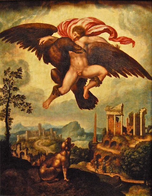 Unknown artist. The Abduction Of Ganymede