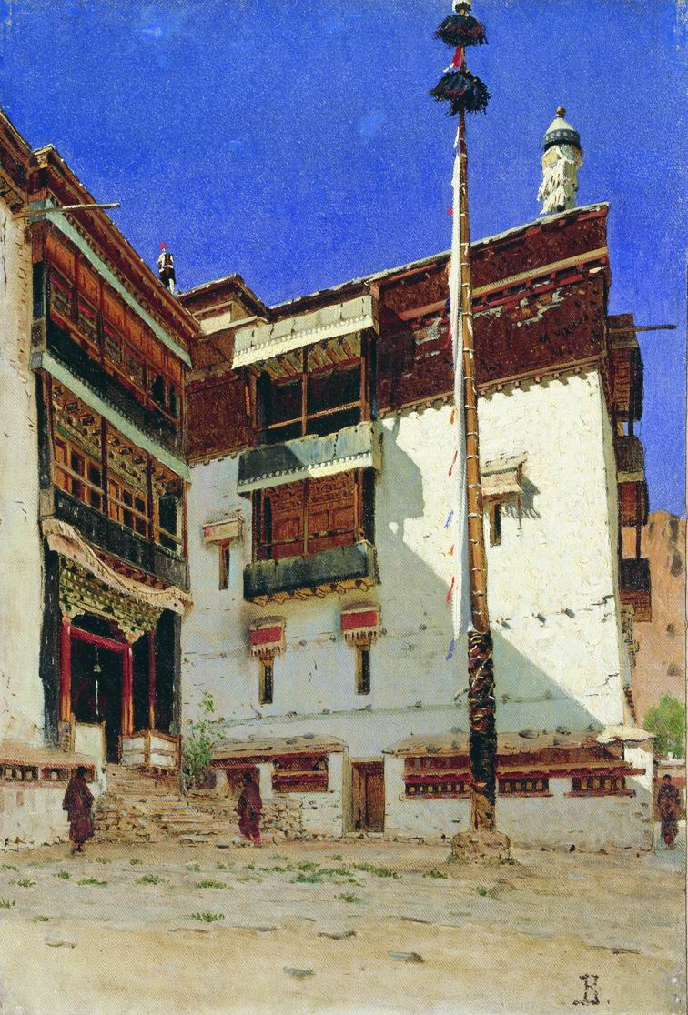 Vasily Vereshchagin. The Indian motive. Etude