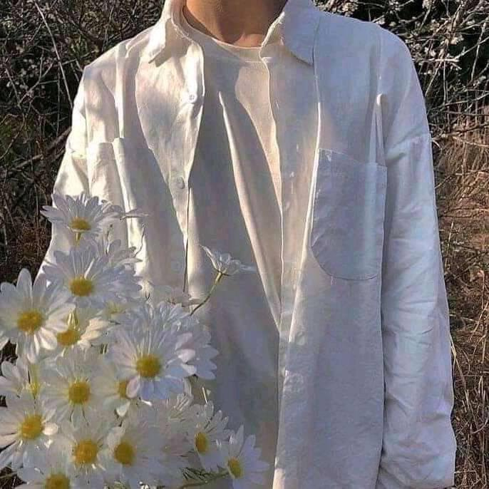 Jony David. Portrait of a boy in white