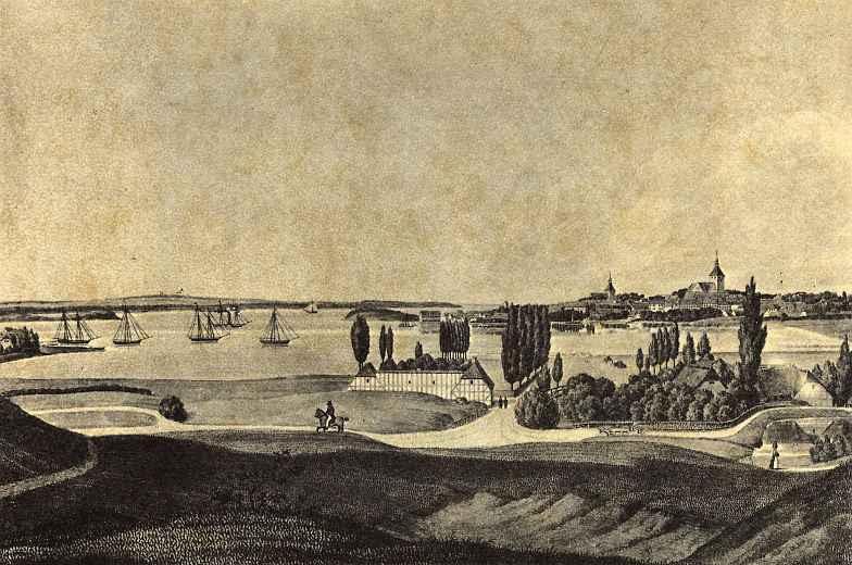 Фридрих Вильгельм Отте. Вид Свеннборга