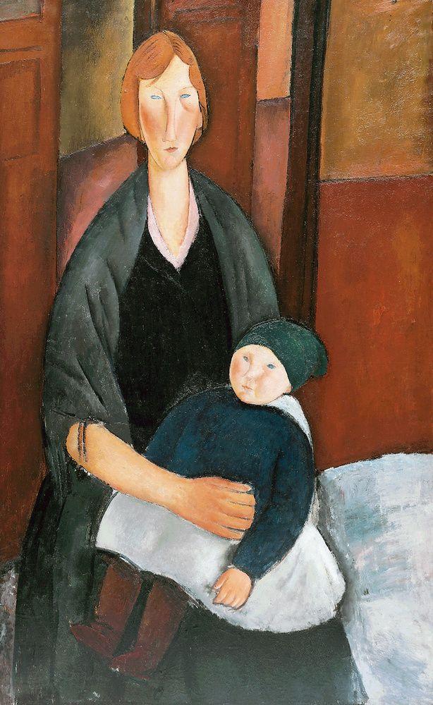 Амедео Модильяни. Материнство (Цветочница с ребёнком)