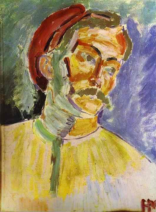 Henri Matisse. Portrait Of Andre Derain