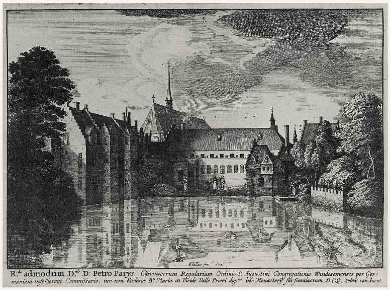 Венцель Холлар. Монастырь