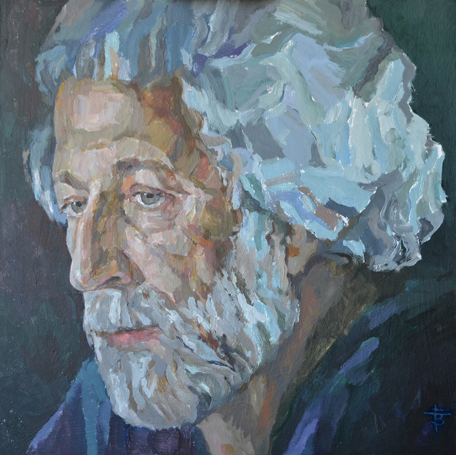 Tatiana Vasilyevna Gavrilenko. Portrait of B.Ya. Eifman