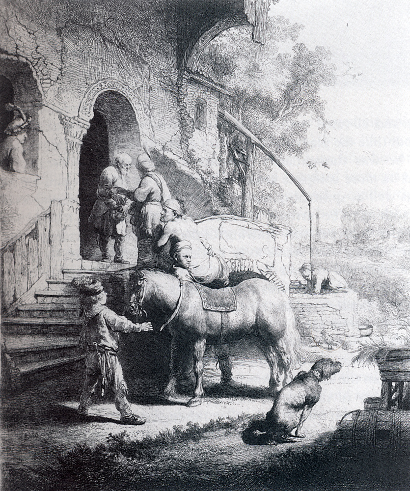 Рембрандт Ван Рейн. Добрый самаритянин