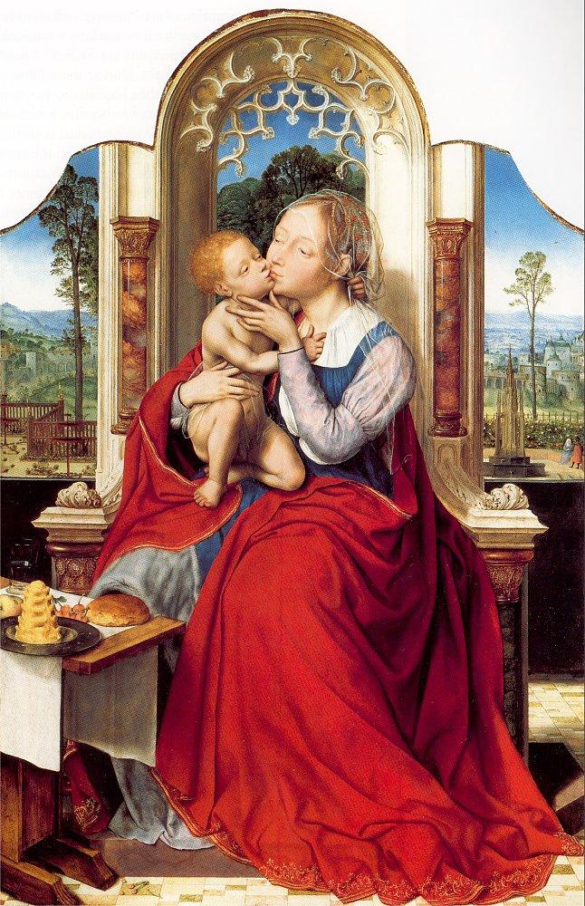 Quentin Masseys. Madonna and Child