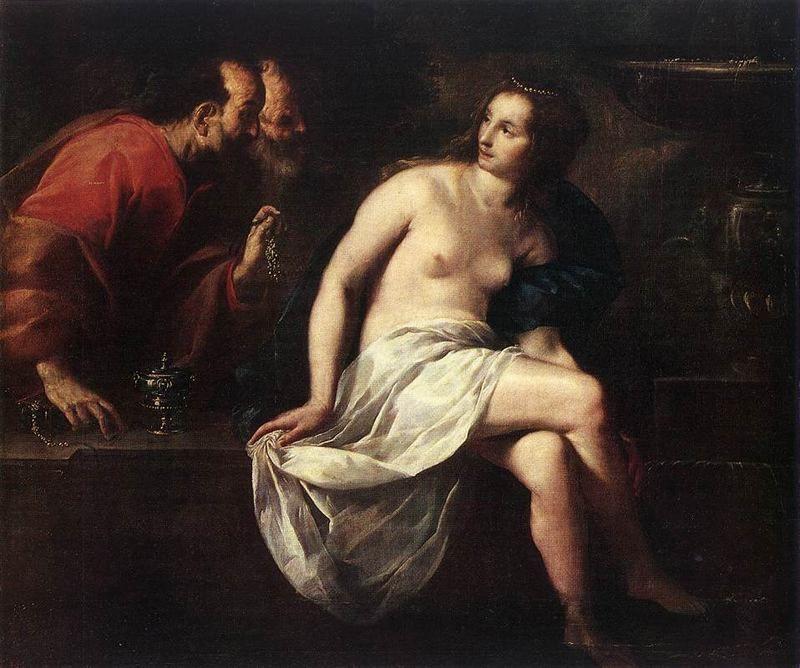 Guido Canyacchi. Susanna and the elders