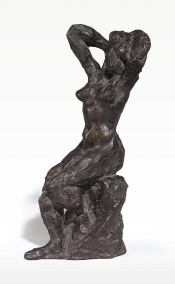 Анри Матисс. Сидящая обнажённая  с руками за головой
