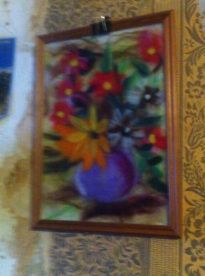 Unknown artist. Flowers