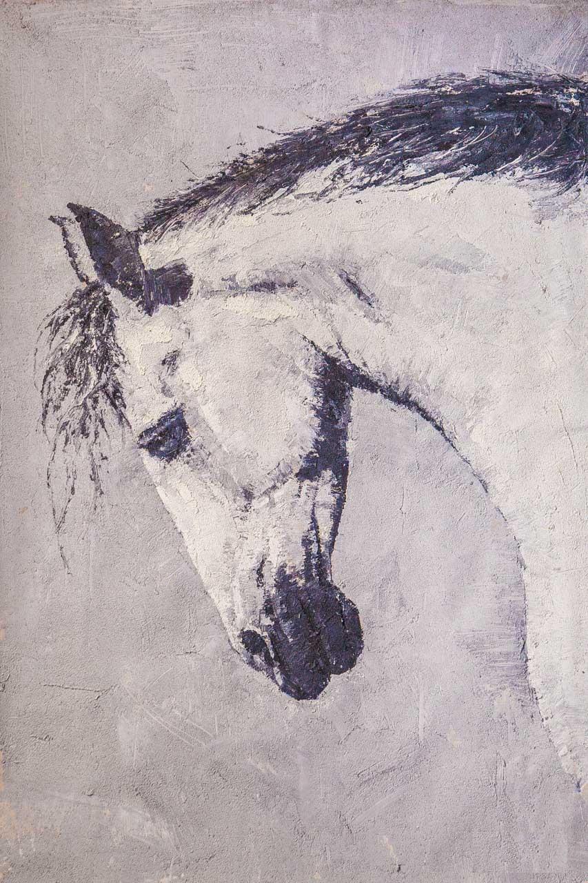 Savely Kamsky. Конь с чёрной гривой