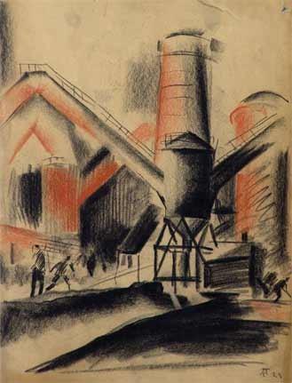 Semen Andreevich Pavlov. Industrial landscape