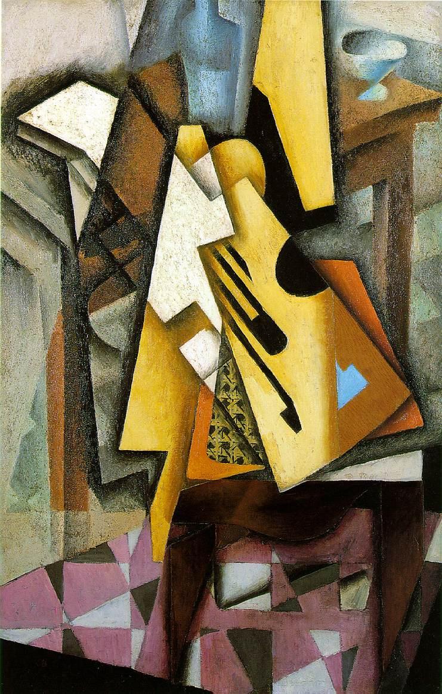 Juan Gris. Guitar on a chair