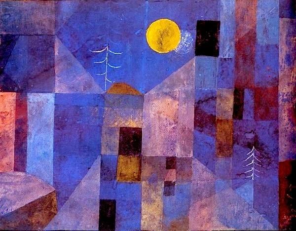 Paul Klee. Moonshine
