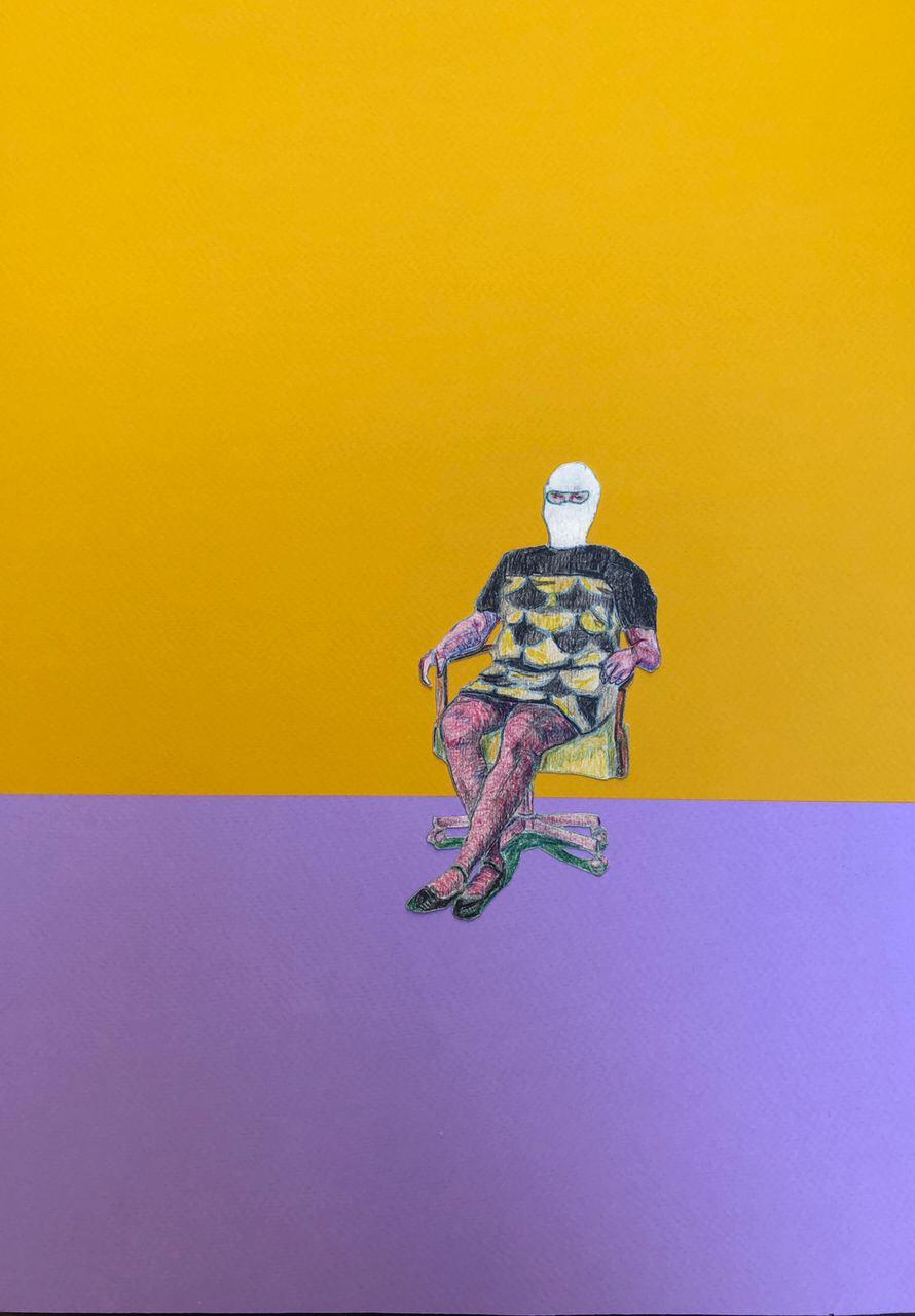 Dmitry Dmitrievich Erlikh. Girl on the armchair