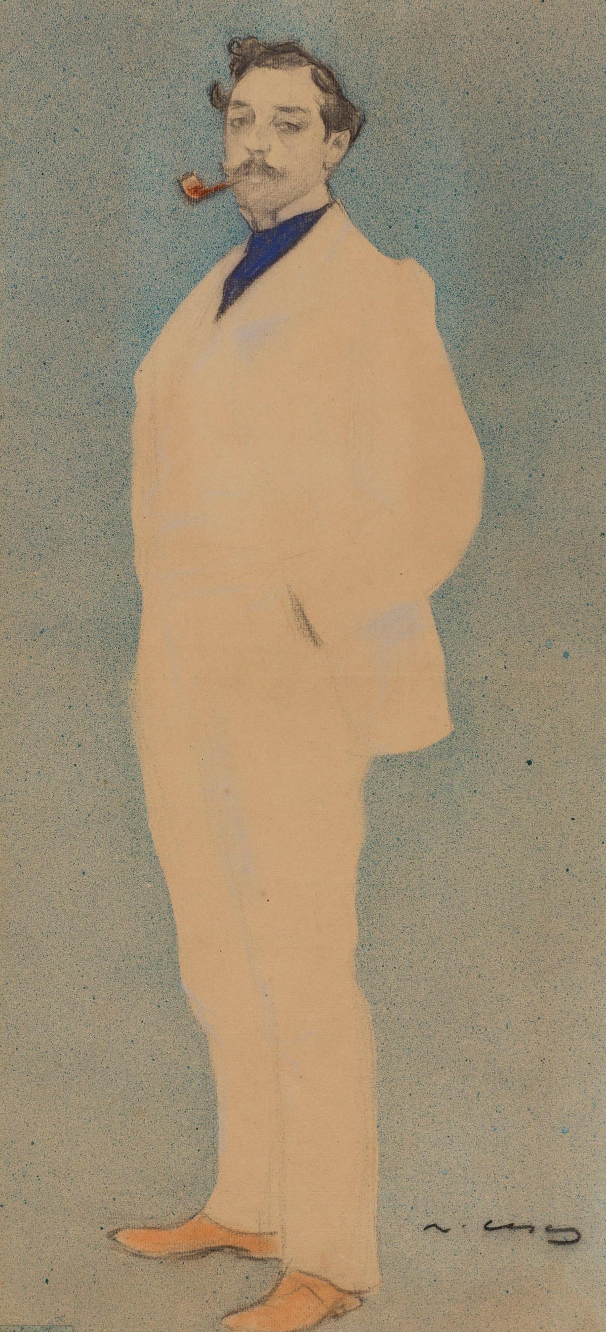 Ramon Casas i Carbó. Portrait of Antoni Utrillo