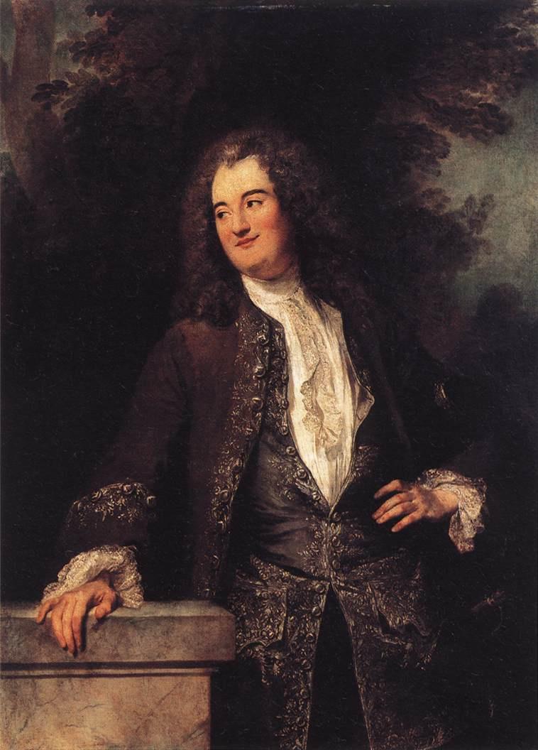 Antoine Watteau. Portrait of a nobleman