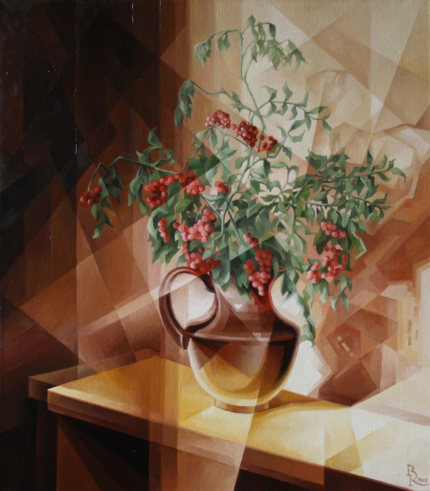 Vasily Krotkov. Sorbus. Post-cubofuturism