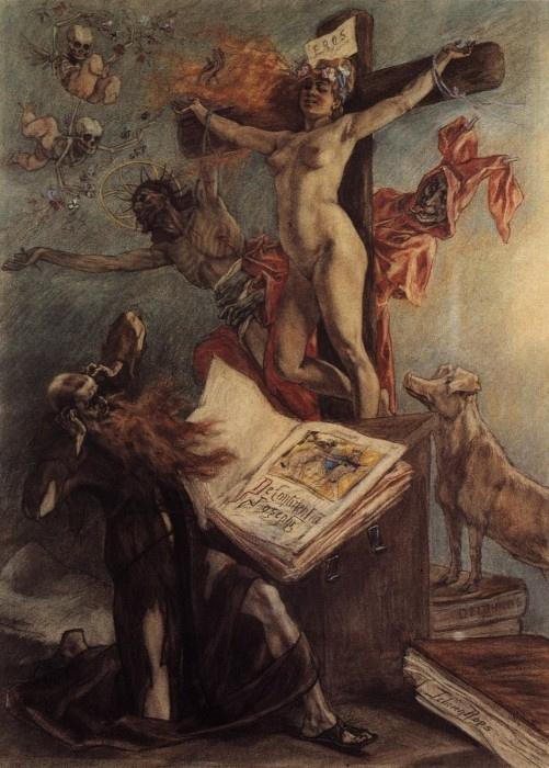 Фелисьен Ропс. Искушение святого Антония