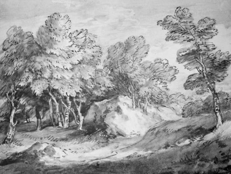 Thomas Gainsborough. Forest landscape