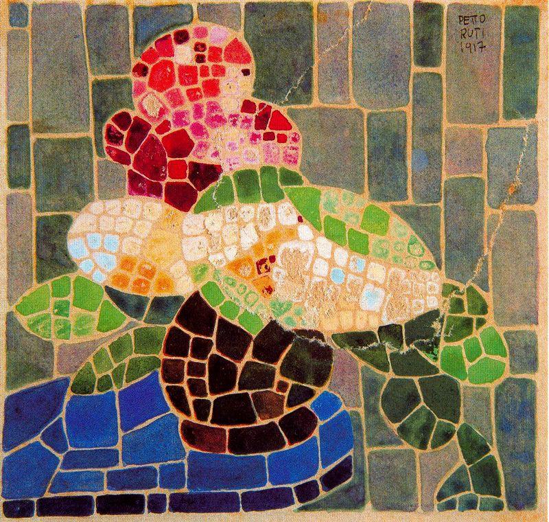 Emilio Petturtti. Mosaic