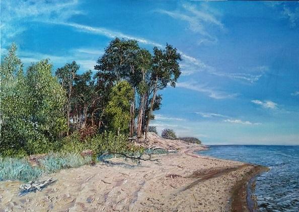 Evgeny Vladimirovich Terentyev. The Baltic coast