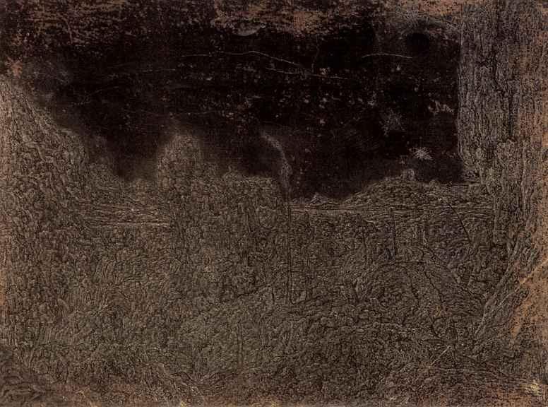 Херкюлес Питерс Сегерс. Пейзаж с горами и ущельями и путником справа