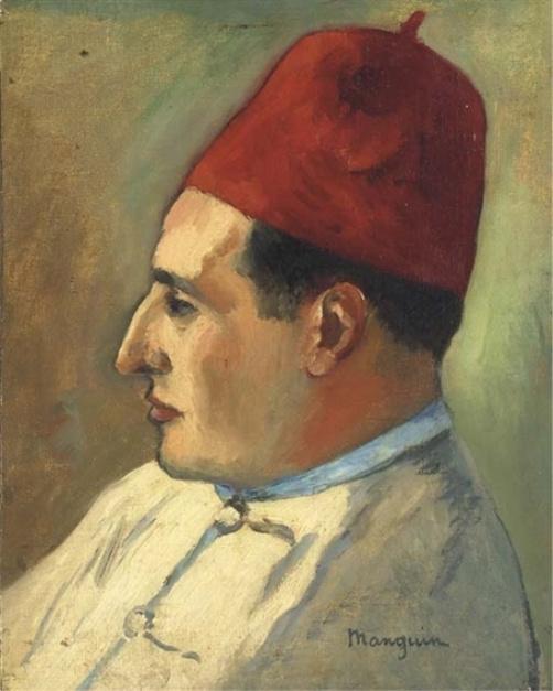 Henri Manguin. Jean Mete in Turkish dress