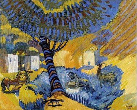 Мартирос Сергеевич Сарян. «У колодца, жаркий день», 1908