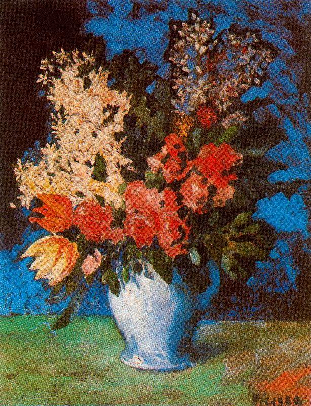 Ю. Пуджиес. Ваза с цветами