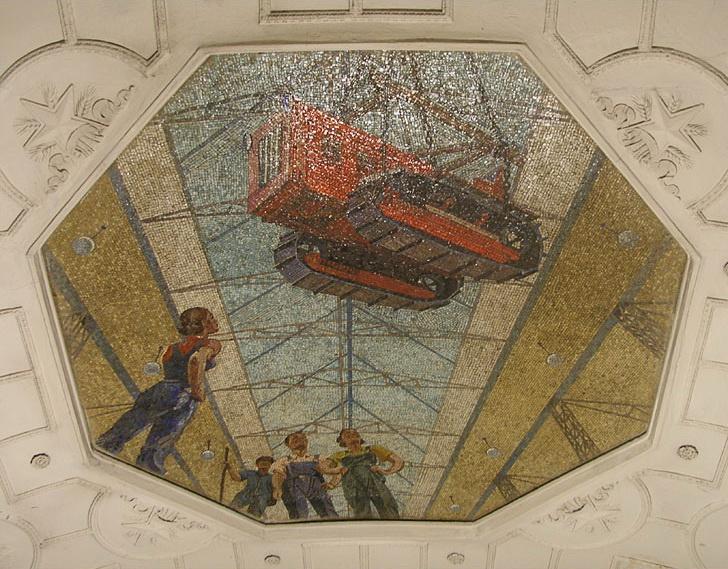 Александр Александрович Дейнека. Мозаичное панно