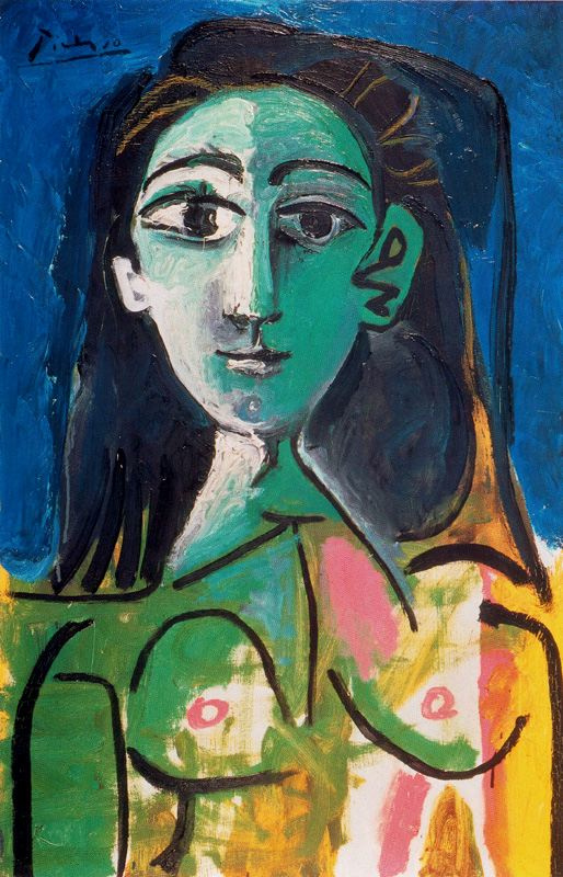 Пабло Пикассо. Молодая женщина (Портрет Жаклин)